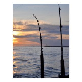 ¡Pescados encendido! Postal