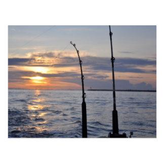 ¡Pescados encendido! Tarjetas Postales