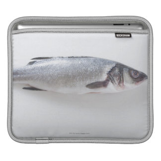 Pescados enteros del branzini funda para iPads
