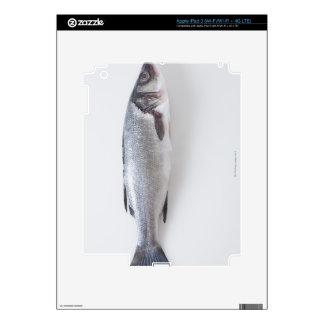 Pescados enteros del branzini pegatina skin para iPad 3