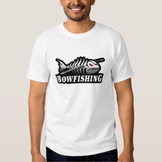 Pescados esqueléticos del hueso de la pesca del camisas