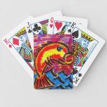 Pescados estupendos baraja cartas de poker