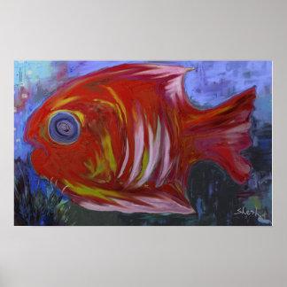Pescados exóticos II Poster