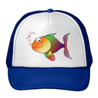 Pescados felices gorras