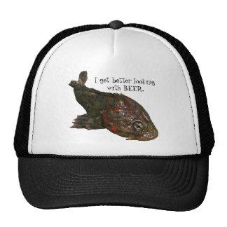 Pescados feos de la roca (señor irlandés) gorras de camionero