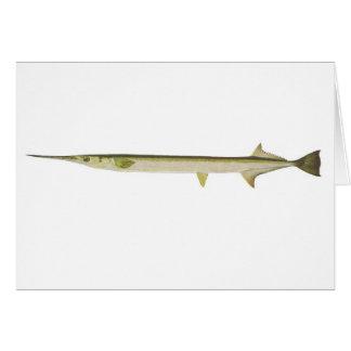 Pescados - ferox delgado de Largo-Tom - de Tarjeta De Felicitación