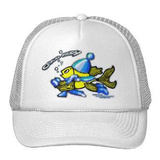 Pescados fríos gorras
