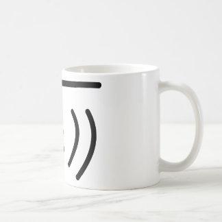 pescados fríos taza de café