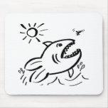 Pescados hambrientos - nd tapete de raton
