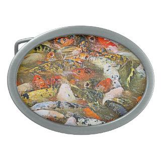 Pescados Hebillas De Cinturon Ovales