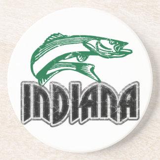 Pescados Indiana Posavaso Para Bebida