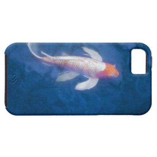 Pescados japoneses del koi en la charca, opinión d iPhone 5 Case-Mate carcasa