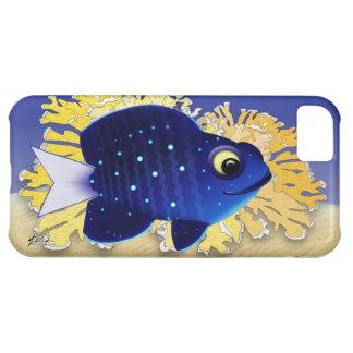 Pescados juveniles de la damisela funda para iPhone 5C