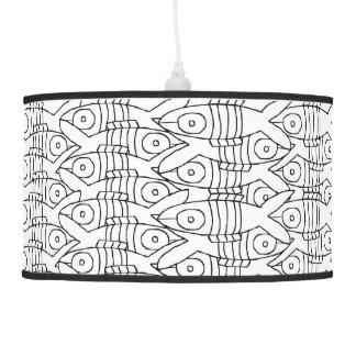 pescados lámpara de techo