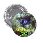Pescados lindos, añil Hamlet, Jamaica Pin Redondo 2,5 Cm