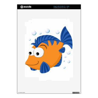 Pescados lindos calcomanía para iPad 2