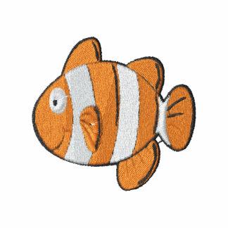 Pescados lindos del payaso del dibujo animado