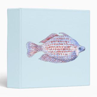 "Pescados. Línea roja Rainbowfish. Carpeta 1 1/2"""