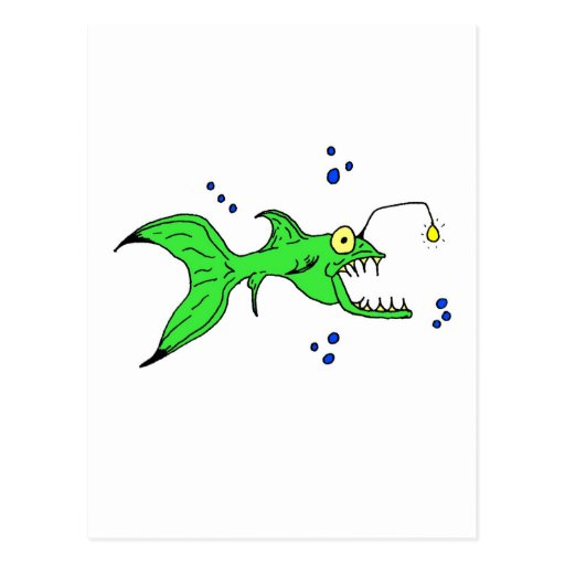 Pescados locos tarjeta postal