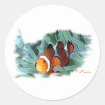 Pescados marinos del acuario por FishTs.com Etiqueta