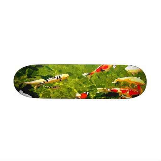 Pescados místicos tablas de patinar