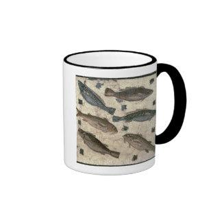 Pescados (mosaico) tazas