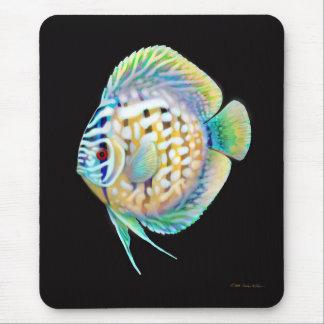 Pescados Mousepad del acuario del disco