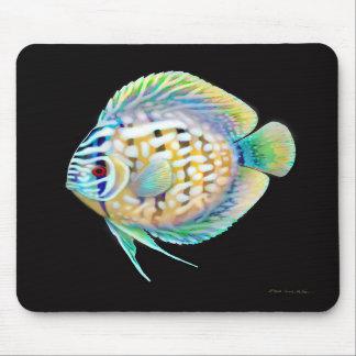 Pescados Mousepad del acuario del disco Alfombrillas De Ratones