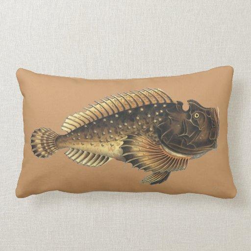 Pescados muy feos almohada