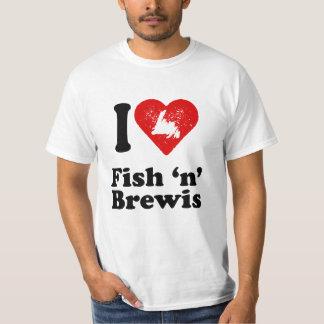 Pescados n Brewis del corazón I Remera