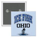 Pescados Ohio del hielo Pins