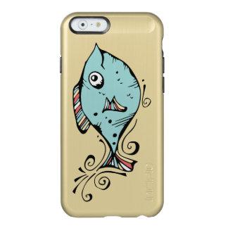 Pescados para Gary Funda Para iPhone 6 Plus Incipio Feather Shine