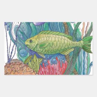 Pescados Pardise del loro Rectangular Altavoz