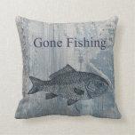 Pescados pesqueros idos almohadas