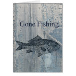 Pescados pesqueros idos tarjetas