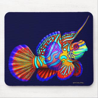 Pescados psicodélicos Mousepad del gobio del manda