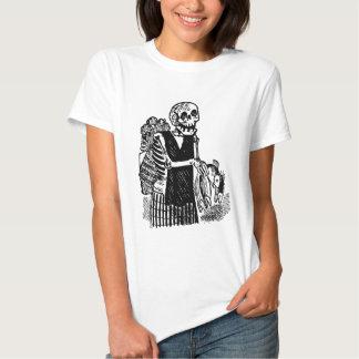 """""""Pescados que llevan esqueléticos"""" circa 1900's Camisas"""