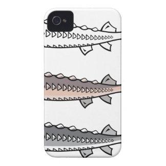 Pescados raros del esturión funda para iPhone 4 de Case-Mate