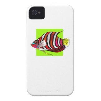 Pescados rayados del ángel Case-Mate iPhone 4 carcasa