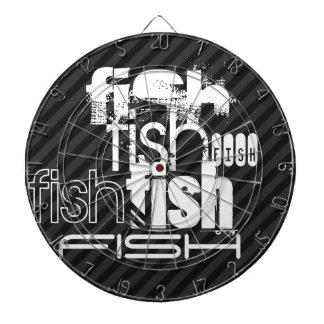 Pescados; Rayas negras y gris oscuro