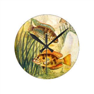 Pescados restaurados vintage reloj