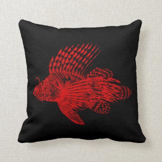 Pescados rojos 1905 del león del cabracho del Lion Cojín