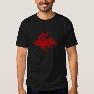 Pescados rojos 1905 del león del cabracho del remeras