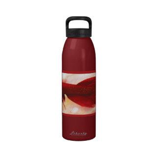 Pescados rojos de Betta Botella De Agua Reutilizable