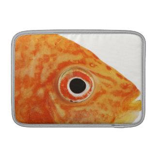 Pescados rojos del diácono funda  MacBook