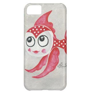 Pescados rojos divertidos funda para iPhone 5C