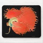 Pescados rojos grandes Mousepad de Betta Alfombrillas De Ratones