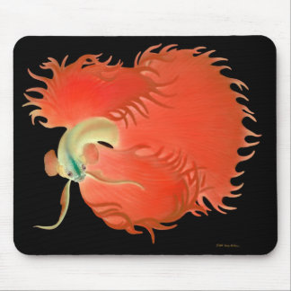 Pescados rojos grandes Mousepad de Betta