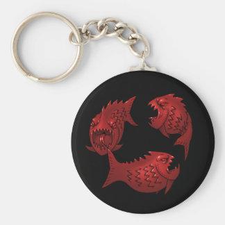 Pescados rojos llaveros personalizados