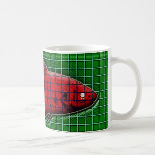 pescados rojos taza clásica